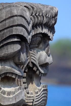 Hawaiian Totem Poles
