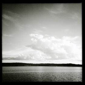 Beautiful Sky on Reid Lake
